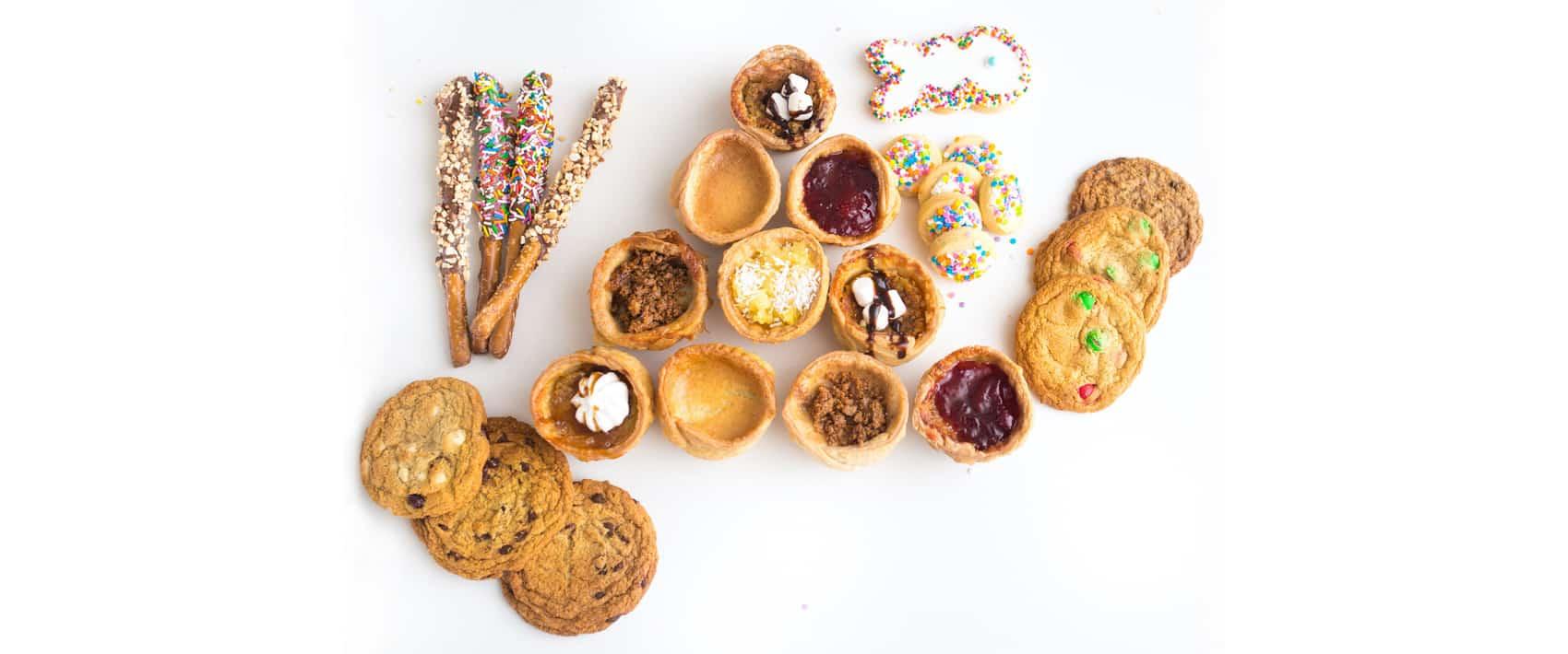 Carla's Cookie Box header - my account